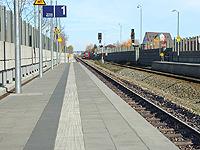 Bahnhof - Klicken für Vorher/Nachher-Vergleich